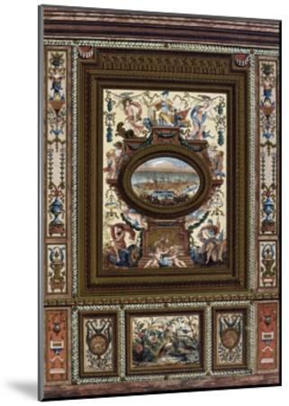 Carved Dado (Lambris)--Mounted Giclee Print