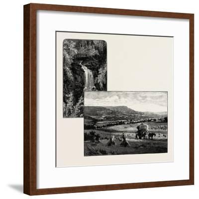 Birks of Aberfeldy (Left); Aberfeldy--Framed Giclee Print