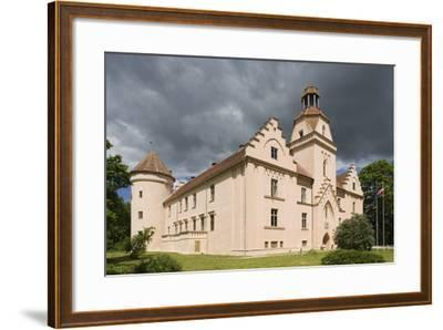 Bishop's Castle (Founded in 13th Century) in Edole--Framed Photographic Print