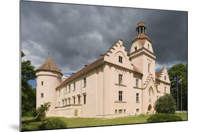 Bishop's Castle (Founded in 13th Century) in Edole--Mounted Photographic Print