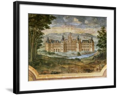 Castle of Chambord--Framed Giclee Print