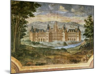 Castle of Chambord--Mounted Giclee Print