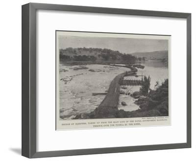 Bridge of Sleepers--Framed Giclee Print