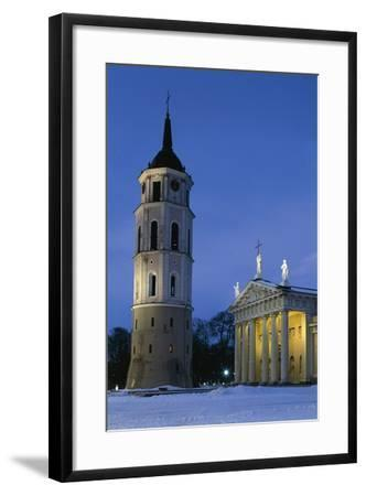 Cathedral of Vilnius--Framed Photographic Print