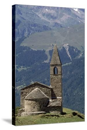 Chapel Saint-Pierre D' Extravache--Stretched Canvas Print