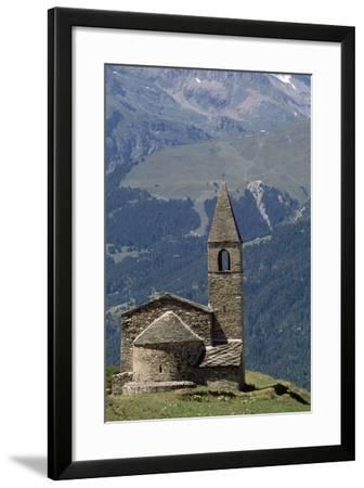 Chapel Saint-Pierre D' Extravache--Framed Photographic Print