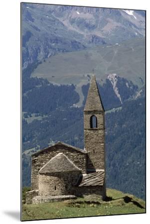 Chapel Saint-Pierre D' Extravache--Mounted Photographic Print