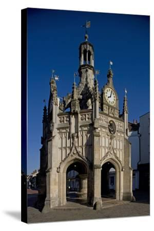 Chichester Cross (Market Cross) (1501) Standing at Crossroads of Four Main Streets of City--Stretched Canvas Print
