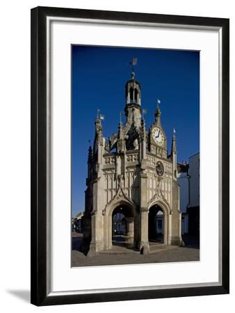 Chichester Cross (Market Cross) (1501) Standing at Crossroads of Four Main Streets of City--Framed Photographic Print