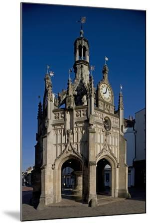 Chichester Cross (Market Cross) (1501) Standing at Crossroads of Four Main Streets of City--Mounted Photographic Print