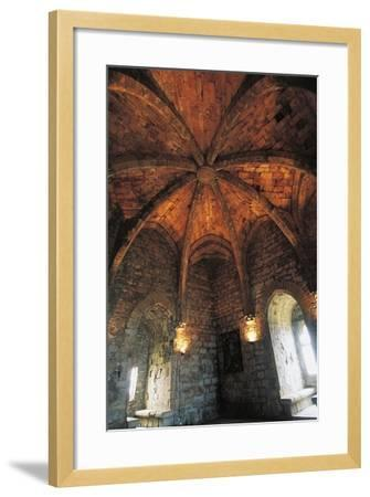 Ceiling of Musicians Hall--Framed Photographic Print