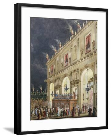 Celebration at Cascine in Honor of Ferdinand Iii--Framed Giclee Print