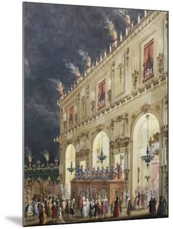 Celebration at Cascine in Honor of Ferdinand Iii--Mounted Giclee Print
