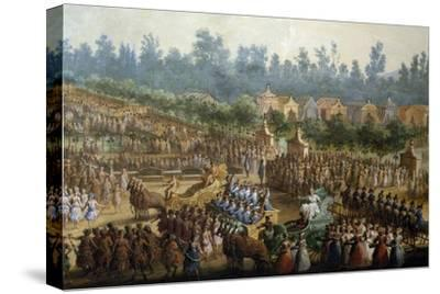 Celebration at Farmsteads in Honor of Ferdinand Iii--Stretched Canvas Print