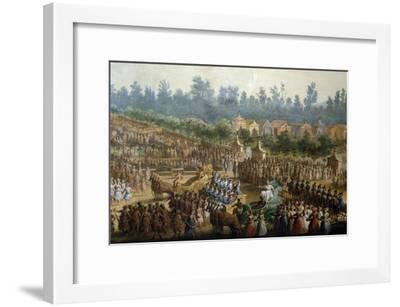 Celebration at Farmsteads in Honor of Ferdinand Iii--Framed Giclee Print