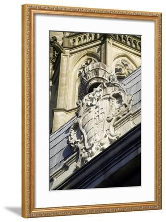 Coat of Arms--Framed Photographic Print