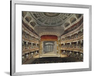 Concert at New Covent Garden Theatre in London--Framed Giclee Print