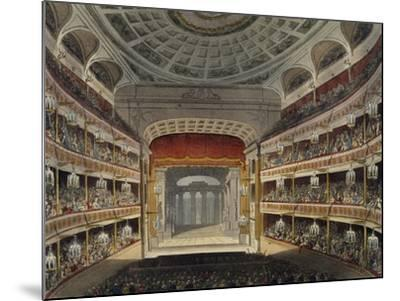 Concert at New Covent Garden Theatre in London--Mounted Giclee Print