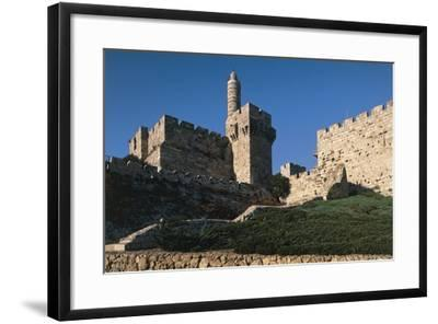 Citadel and Tower of David (Founded in 2nd Century BC)--Framed Photographic Print