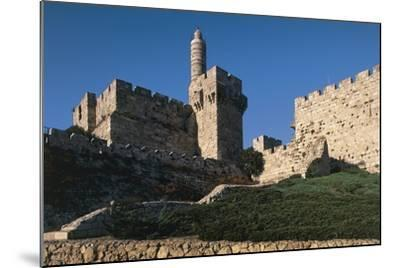 Citadel and Tower of David (Founded in 2nd Century BC)--Mounted Photographic Print