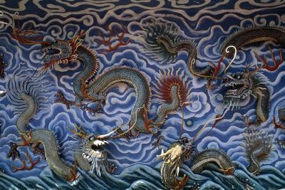 Dragons--Framed Giclee Print