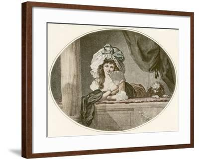 Coquetry--Framed Giclee Print