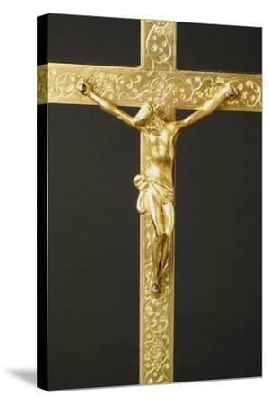 Crucifix--Stretched Canvas Print