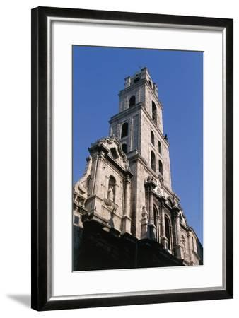 Facade and Bell Tower of Minor Basilica of San Francesco D'Assisi--Framed Photographic Print