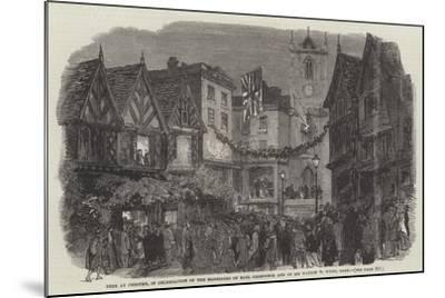 Fete at Chester--Mounted Giclee Print