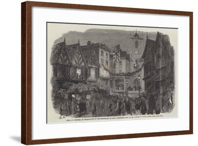 Fete at Chester--Framed Giclee Print
