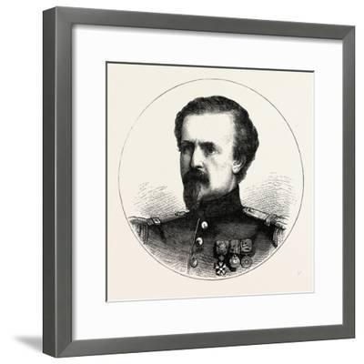 Franco-Prussian War: Pierre Philippe Marie Aristide Denfert-Rochereau--Framed Giclee Print