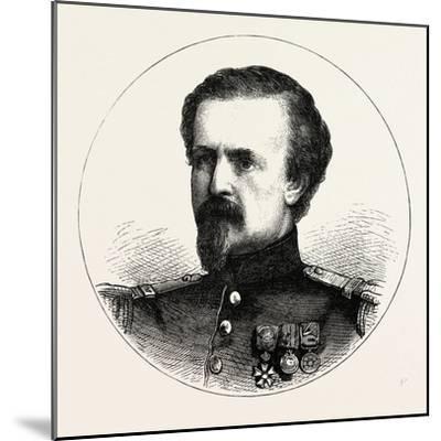 Franco-Prussian War: Pierre Philippe Marie Aristide Denfert-Rochereau--Mounted Giclee Print