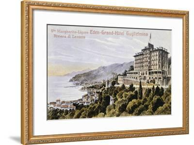 Eden Grand Hotel Guglielmina in Santa Margherita Ligure--Framed Giclee Print
