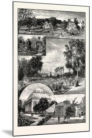 Edinburgh--Mounted Giclee Print