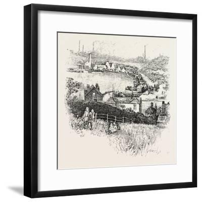 Etruria. Etruria Works--Framed Giclee Print