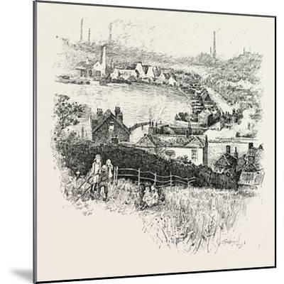 Etruria. Etruria Works--Mounted Giclee Print