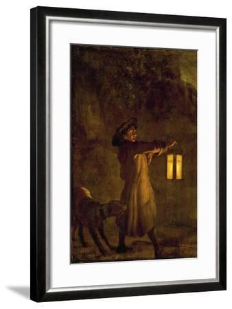 Fairies Dancing in Moonlight--Framed Giclee Print