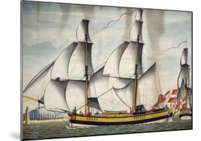 Finmarcken Barquentine--Mounted Giclee Print