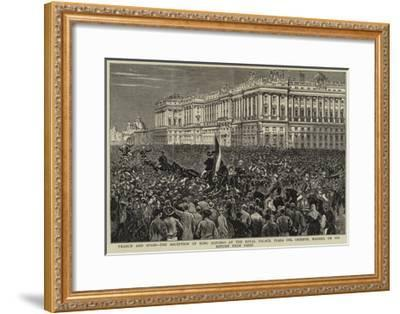 France and Spain--Framed Giclee Print