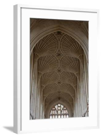 Fan Vaulting in the Abbey Church (1499) Bath (Unesco World Heritage List--Framed Photographic Print