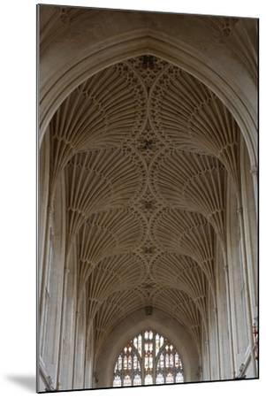Fan Vaulting in the Abbey Church (1499) Bath (Unesco World Heritage List--Mounted Photographic Print