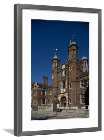 Entrance to Hospital of Blessed Trinity known as Abbot's Hospital Commissioned by George Abbot--Framed Photographic Print