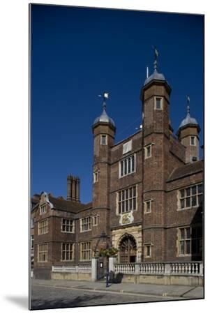 Entrance to Hospital of Blessed Trinity known as Abbot's Hospital Commissioned by George Abbot--Mounted Photographic Print