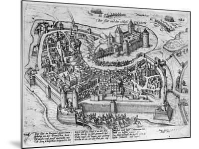 Henri IV (1553-1610) Entering Dijon--Mounted Giclee Print