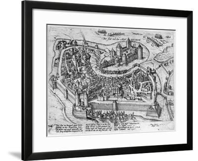 Henri IV (1553-1610) Entering Dijon--Framed Giclee Print