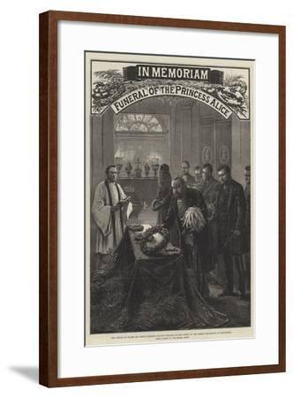 Funeral of the Princess Alice--Framed Giclee Print