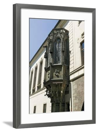 Gothic Bay Window by Peter Parler--Framed Photographic Print