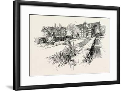 Garden Front of the House in Which Shakespeare Was Born--Framed Giclee Print
