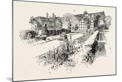 Garden Front of the House in Which Shakespeare Was Born--Mounted Giclee Print