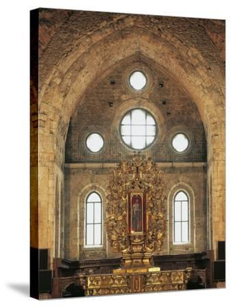High Altar (1740) in San Giovanni in Fiore Abbey--Stretched Canvas Print
